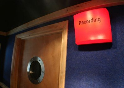 Recording Sign and Door