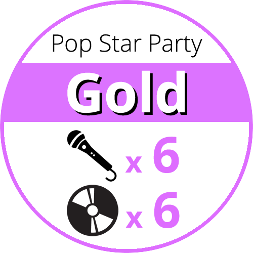 Pop Star Party Gold price