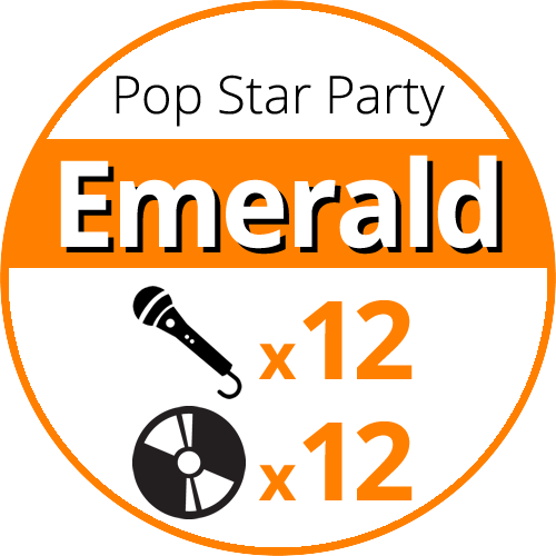 Pop Star Party Emerald price