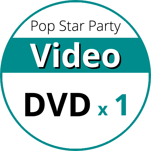 Video DVD for Pop Star Party